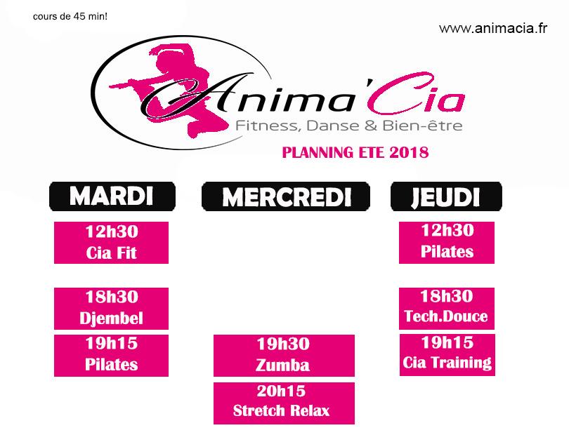planning ETE 2018